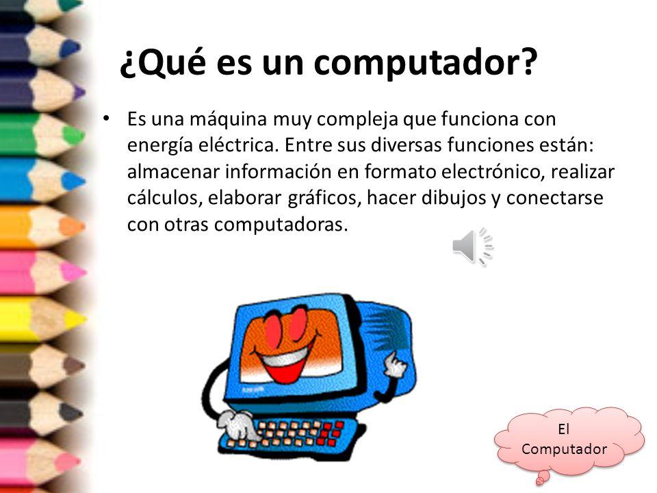 ¿Qué es un computador