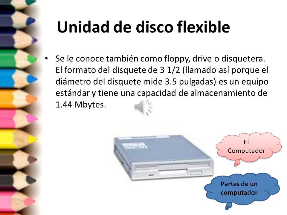 Unidad de disco flexible