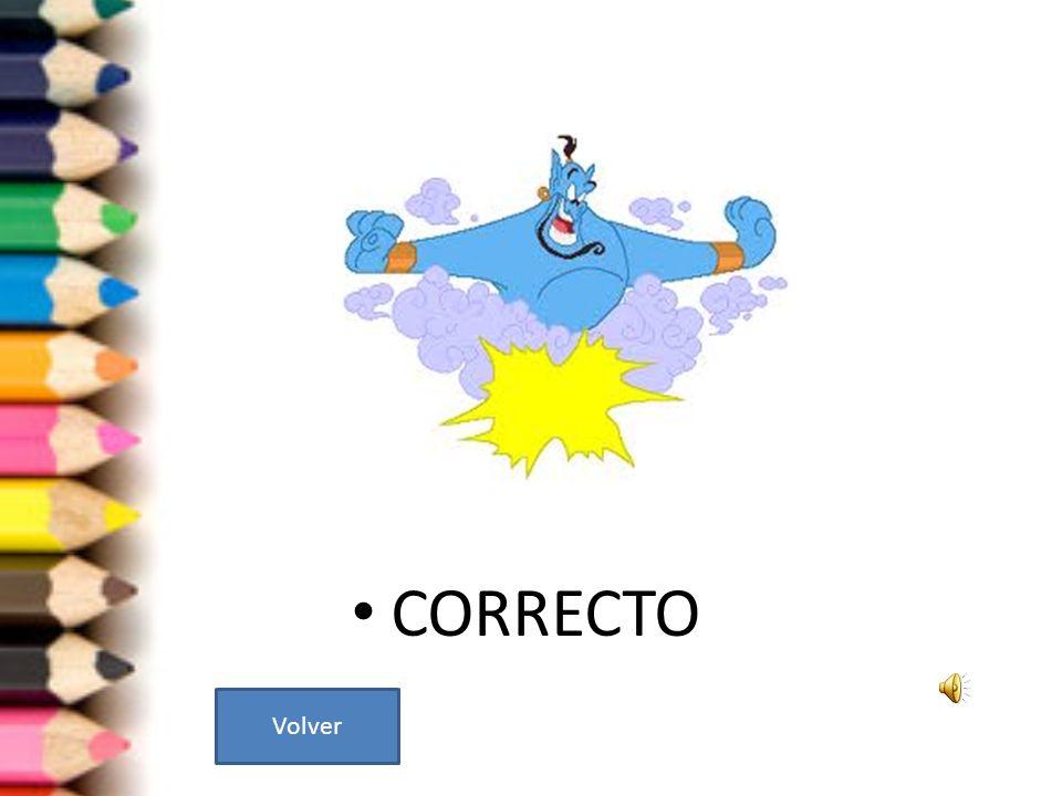 CORRECTO Volver