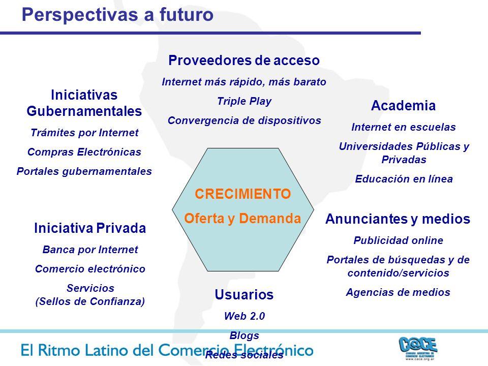 Perspectivas a futuro Proveedores de acceso