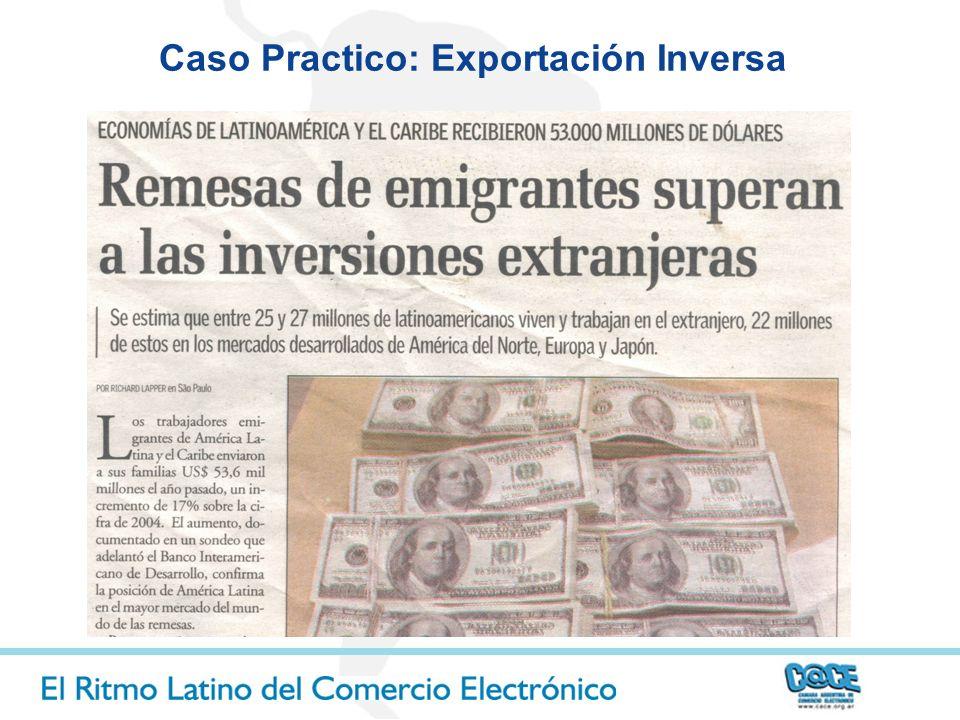 Caso Practico: Exportación Inversa