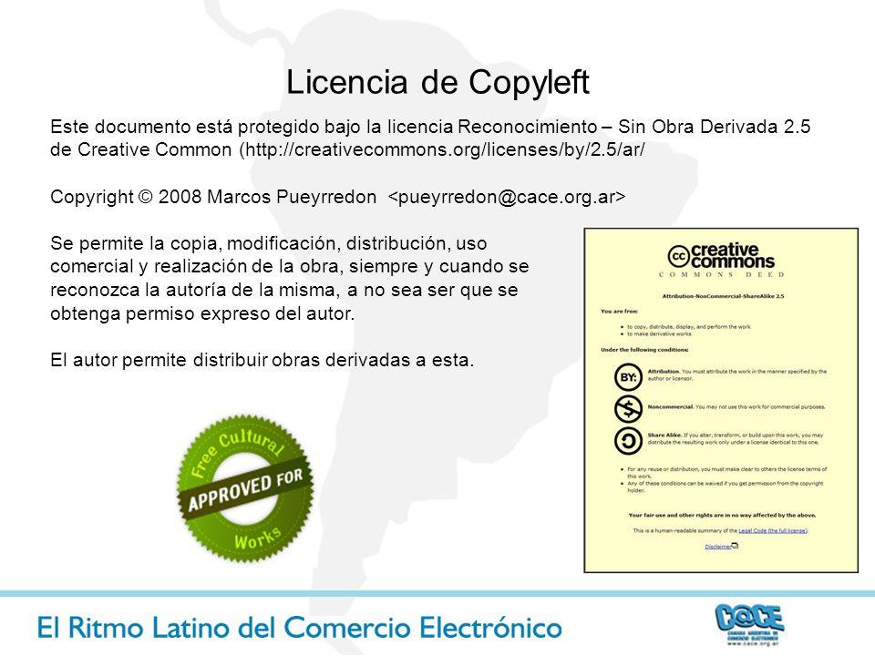 Licencia de Copyleft