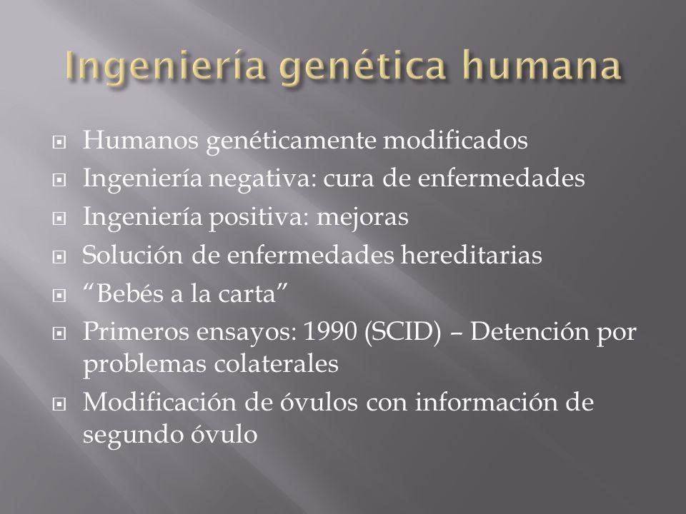 Ingeniería genética humana