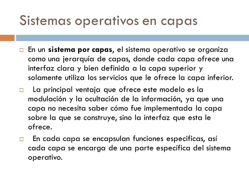 Sistemas operativos en capas