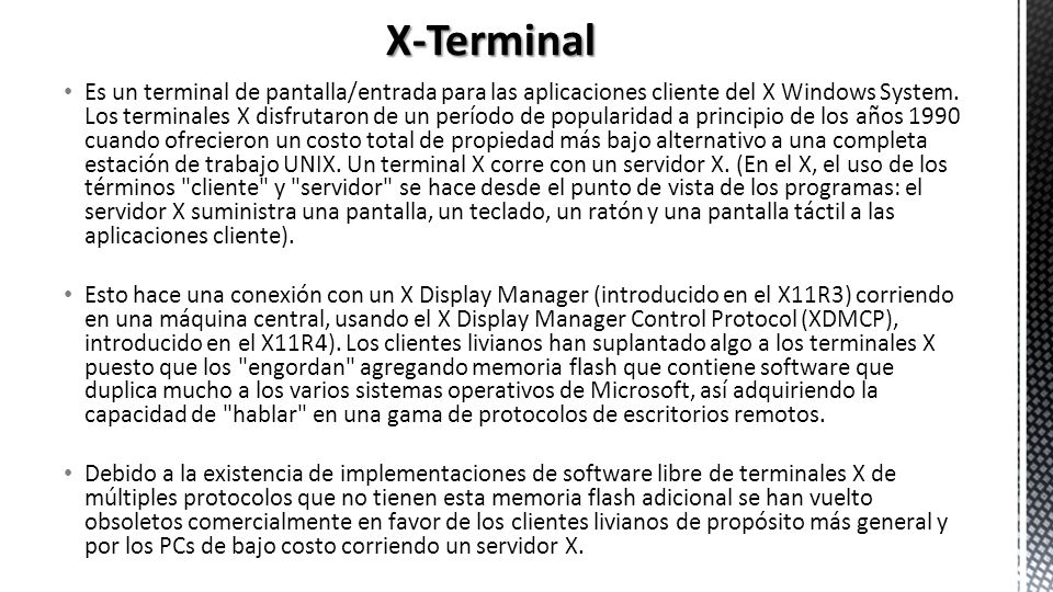 X-Terminal