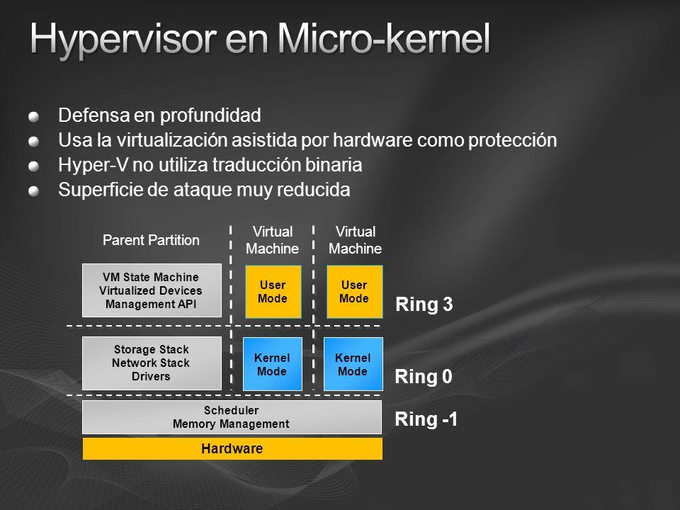 Hypervisor en Micro-kernel