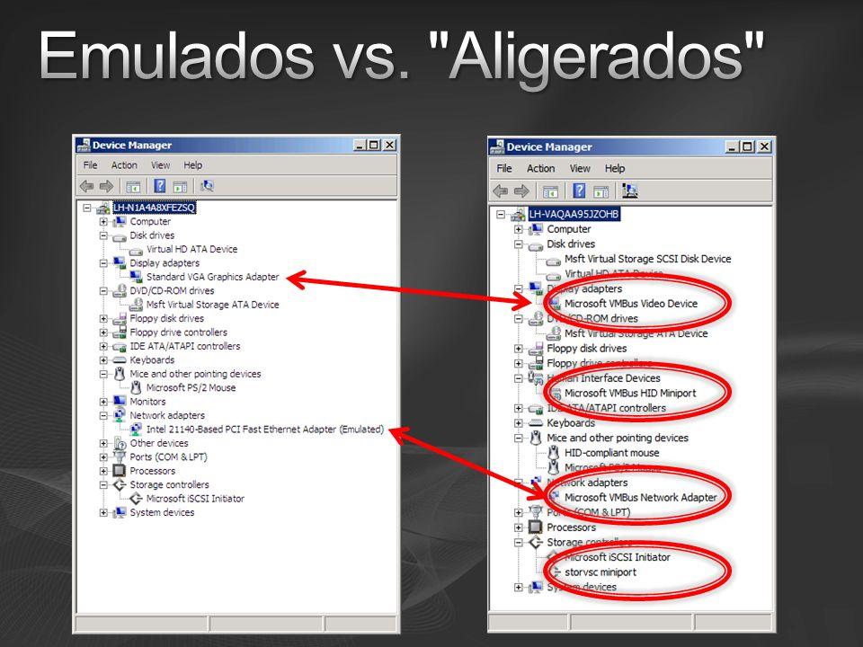 Emulados vs. Aligerados