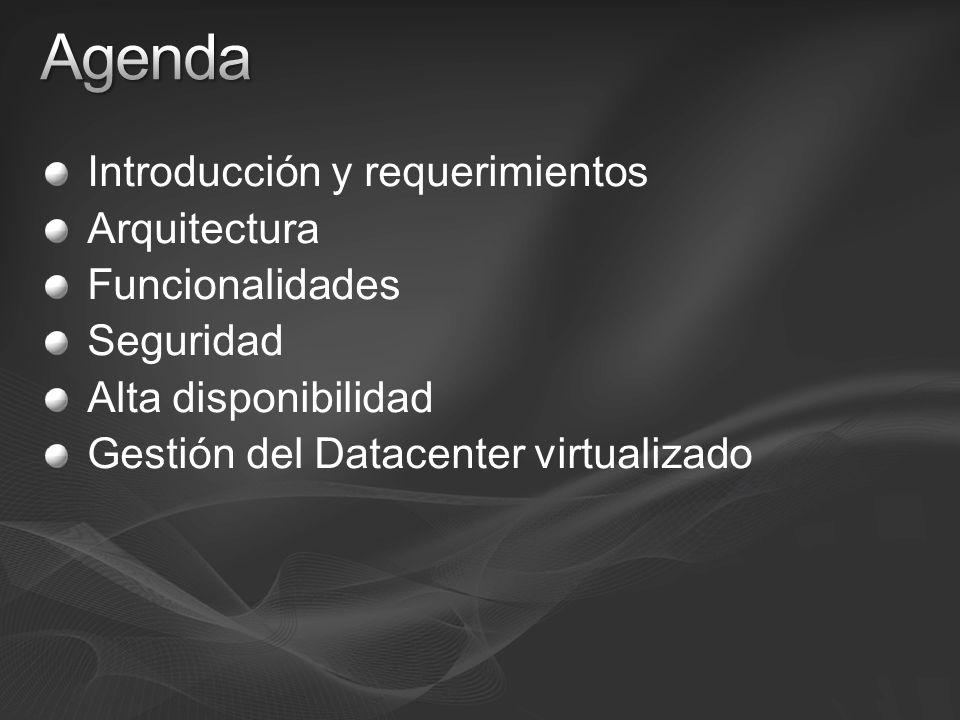 Agenda Introducción y requerimientos Arquitectura Funcionalidades