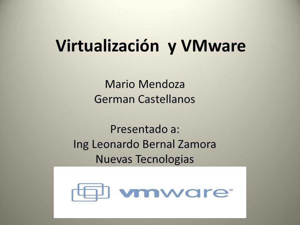 Virtualización y VMware