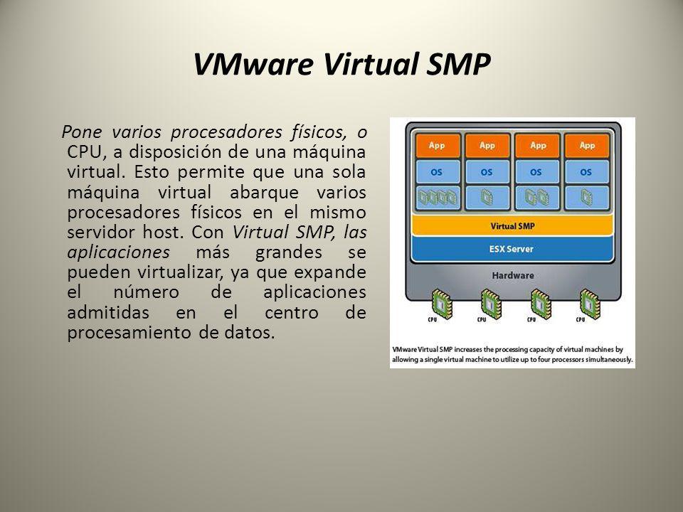 VMware Virtual SMP
