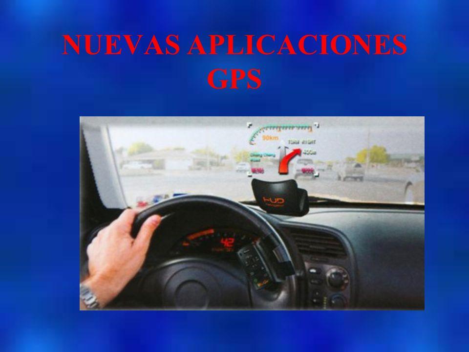 NUEVAS APLICACIONES GPS