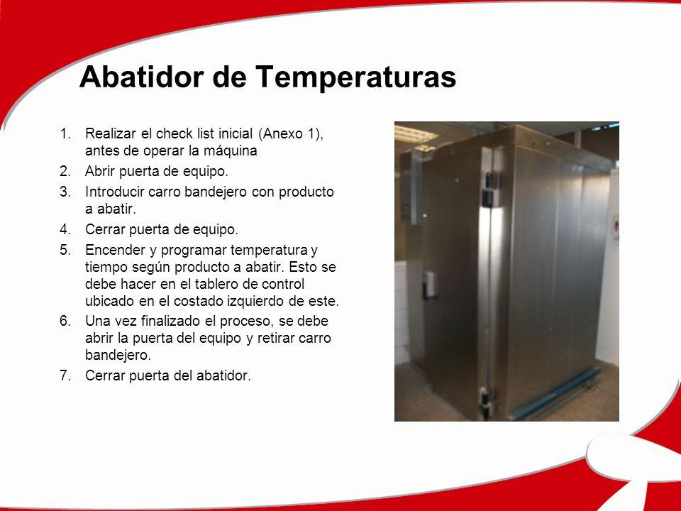 Abatidor de Temperaturas