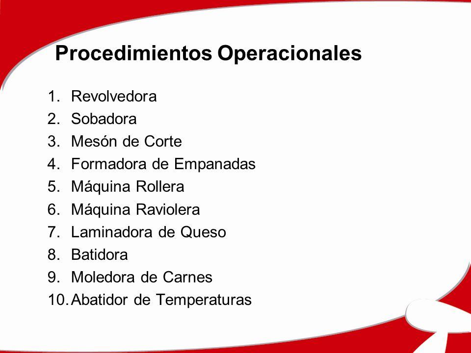 Procedimientos Operacionales