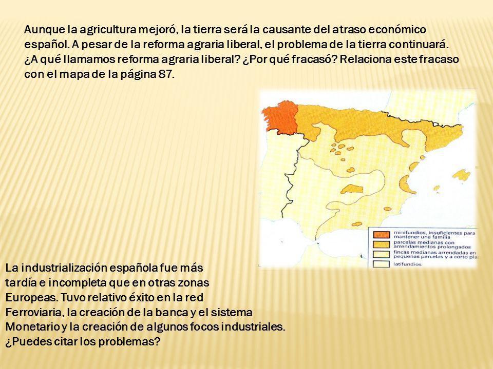Aunque la agricultura mejoró, la tierra será la causante del atraso económico