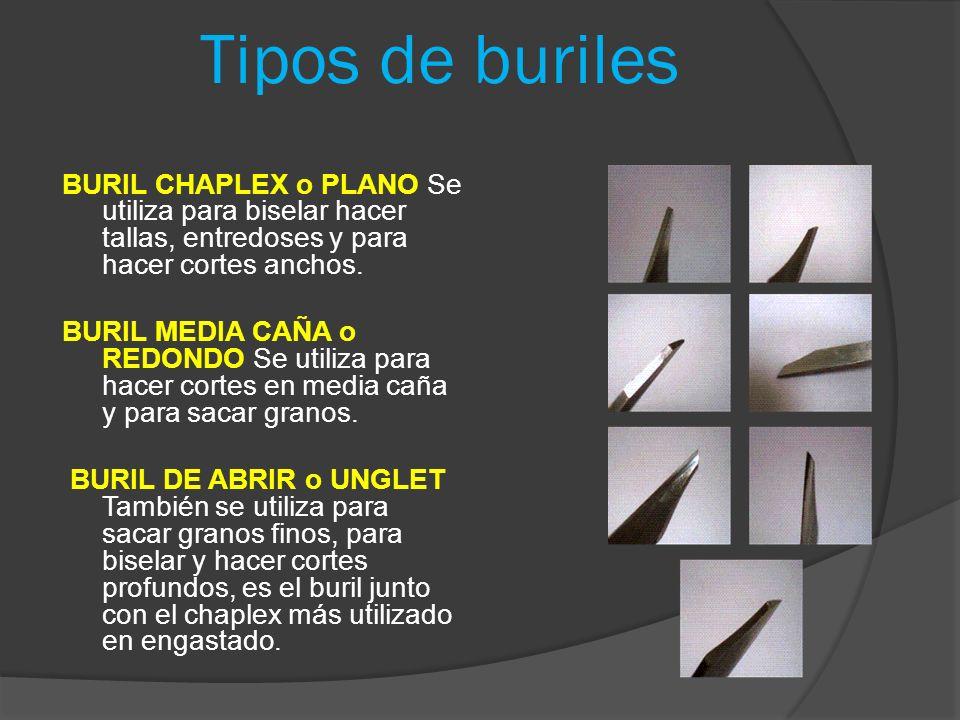 Tipos de buriles