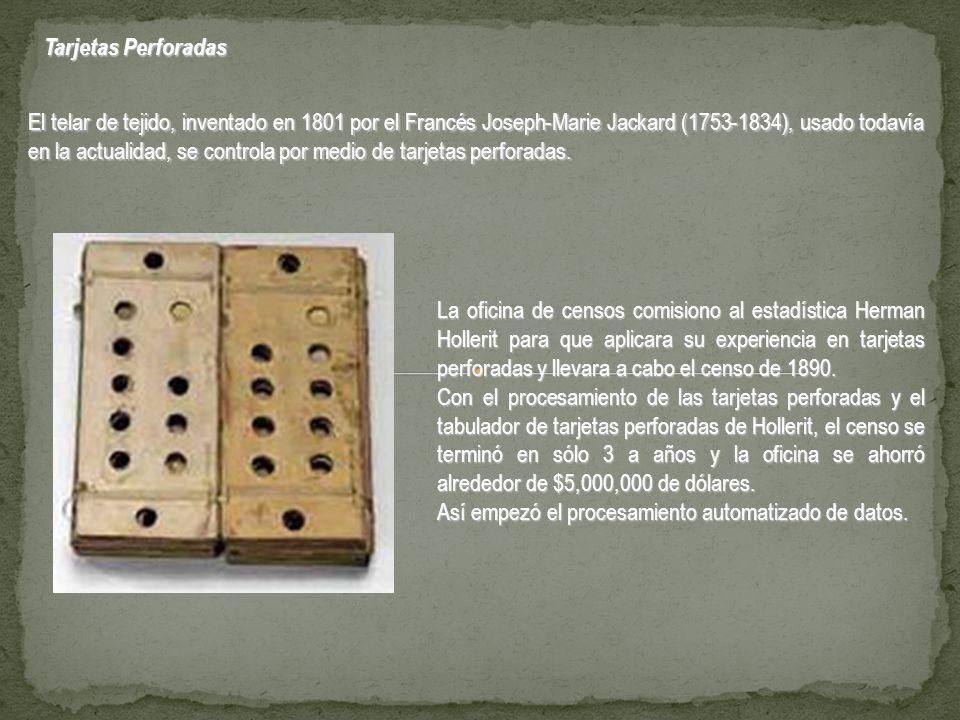 Tarjetas Perforadas