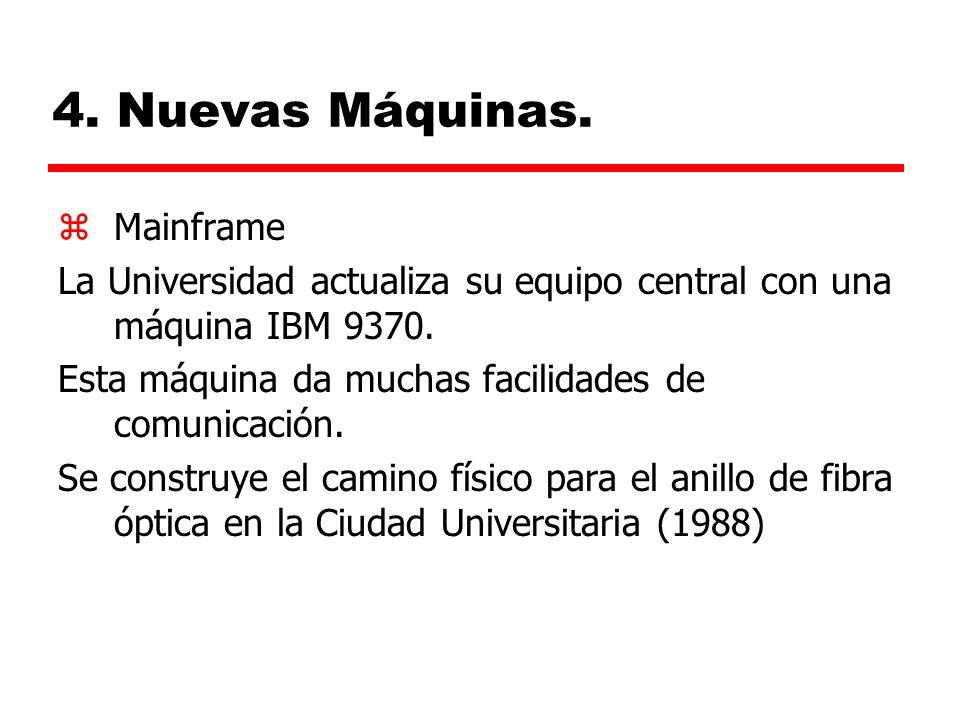 4. Nuevas Máquinas. Mainframe