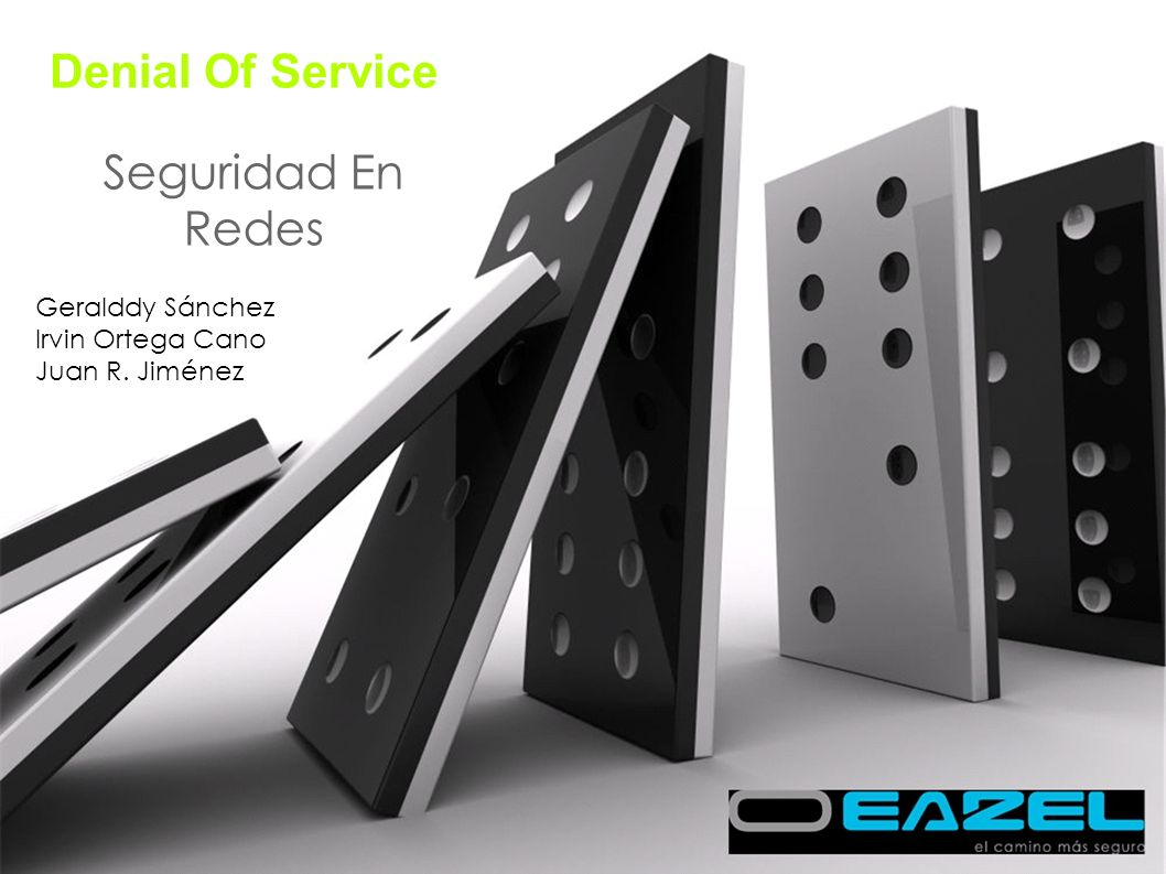 Denial Of Service Seguridad En Redes Geralddy Sánchez