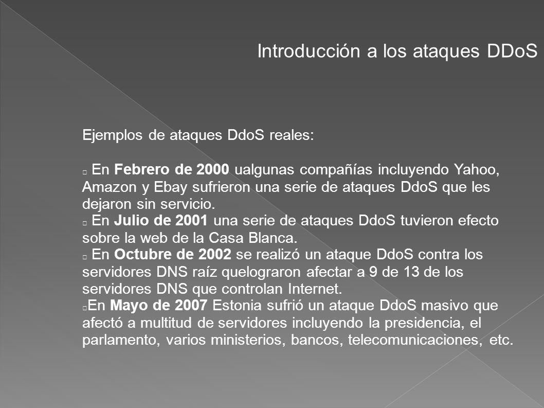 Introducción a los ataques DDoS