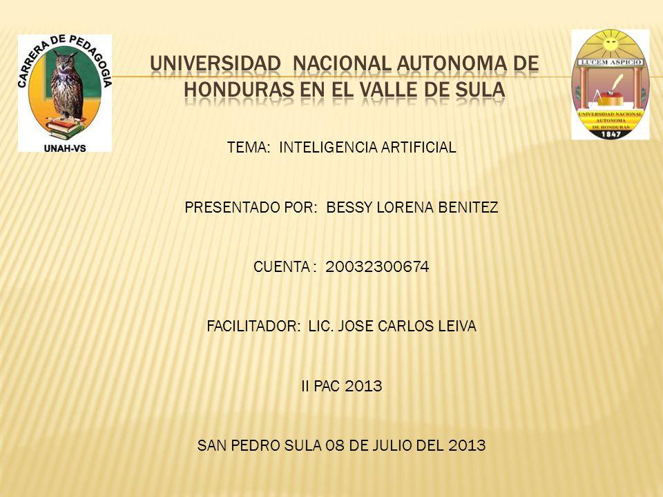 Universidad nacional autonoma de Honduras en el valle de sula