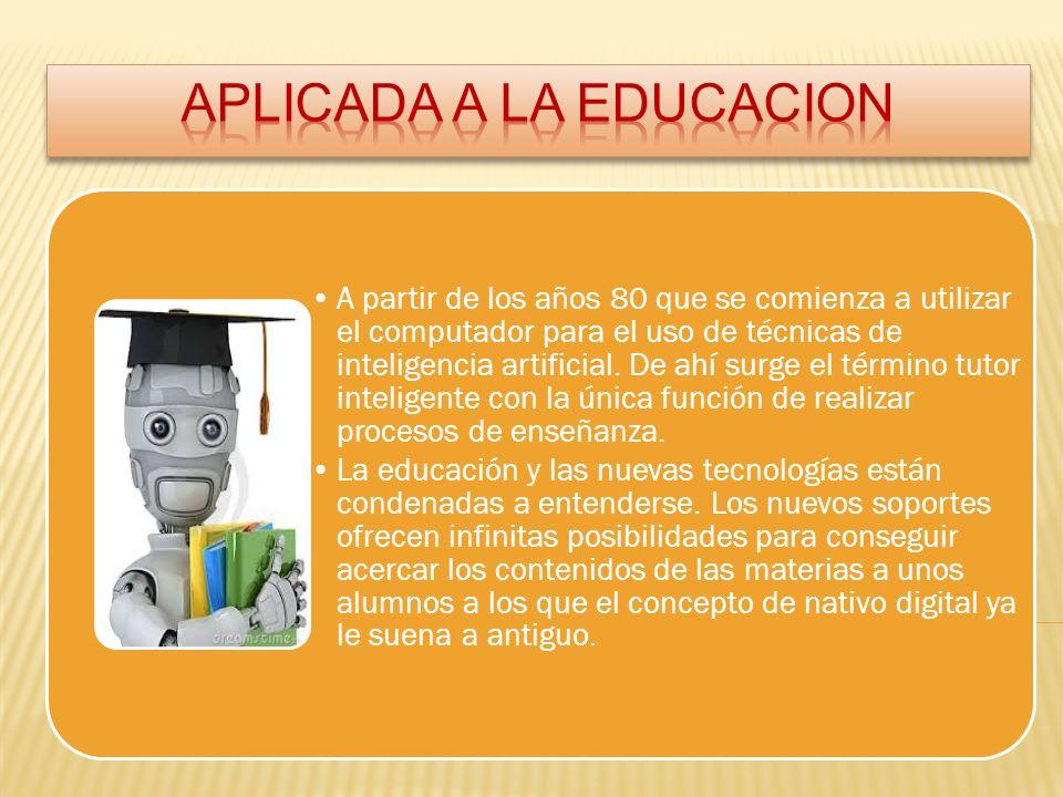 APLICADA A LA EDUCACION