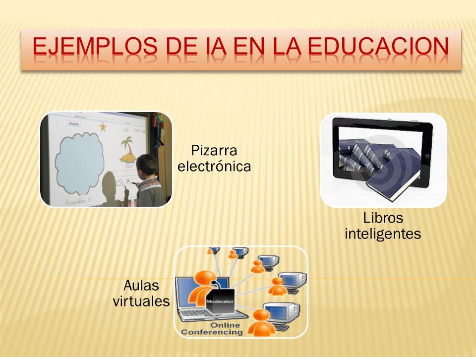 EJEMPLOS DE IA EN LA EDUCACION