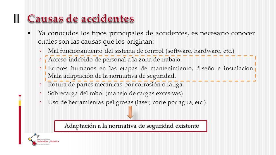 Adaptación a la normativa de seguridad existente