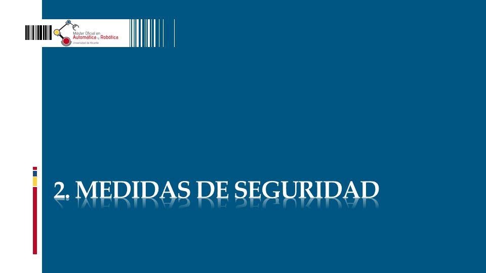 2. MEDIDAS DE SEGURIDAD