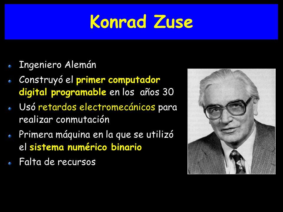 Konrad Zuse Ingeniero Alemán