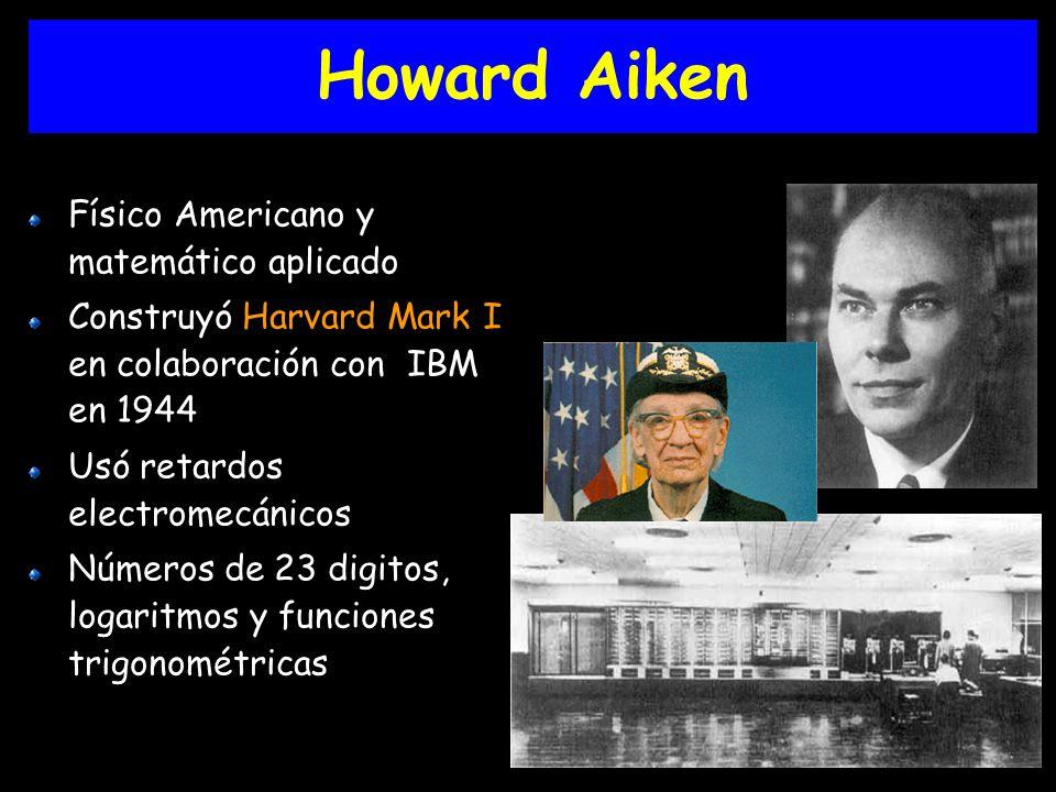Howard Aiken Físico Americano y matemático aplicado