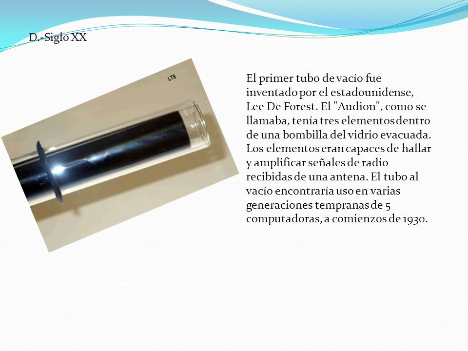 D.-Siglo XX