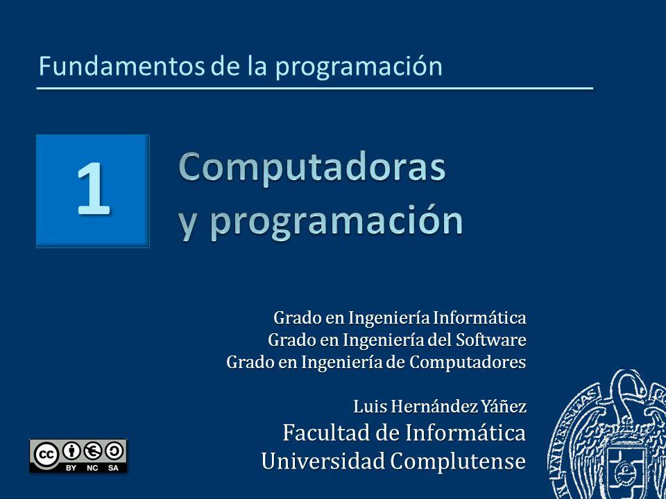 Computadoras y programación