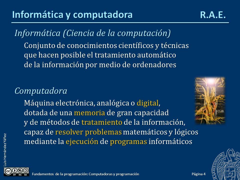 Informática y computadora