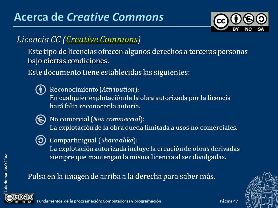 Acerca de Creative Commons