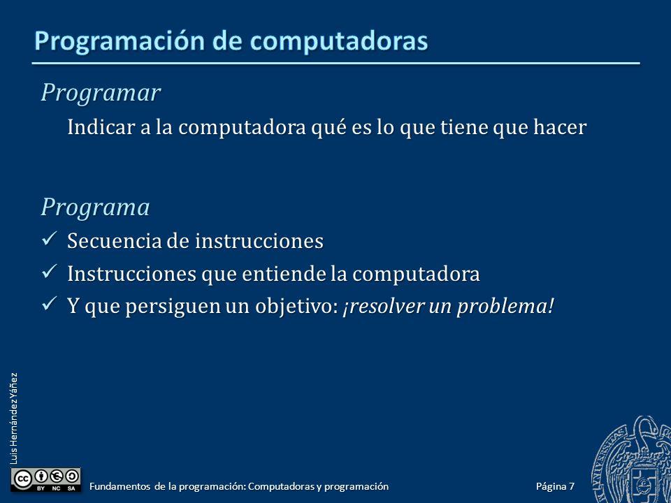 Programación de computadoras