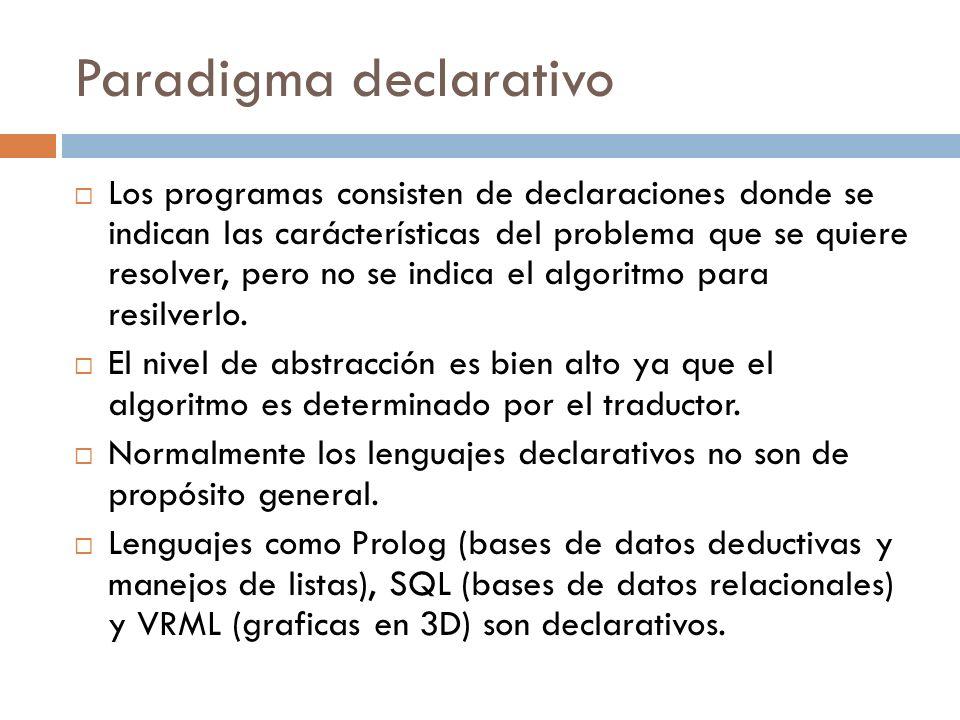 Paradigma declarativo