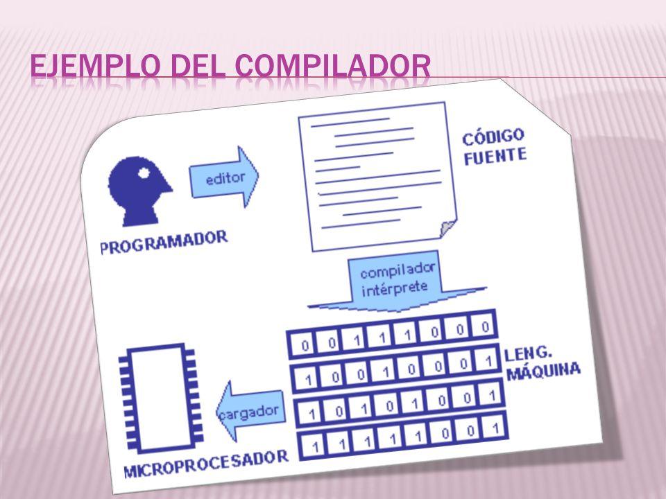 Ejemplo del compilador