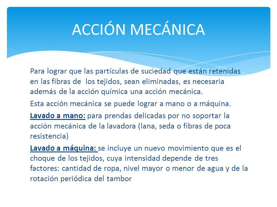 ACCIÓN MECÁNICA