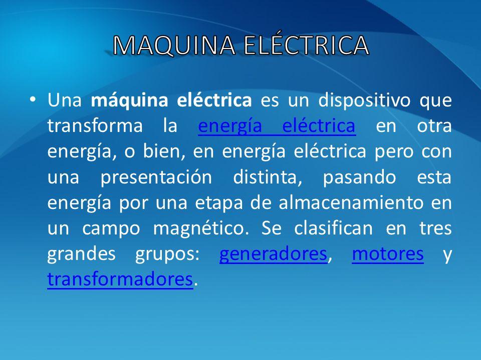 Maquina Eléctrica