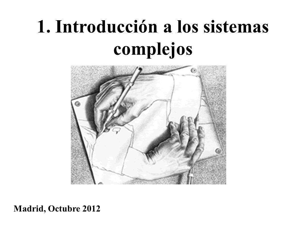 1. Introducción a los sistemas complejos
