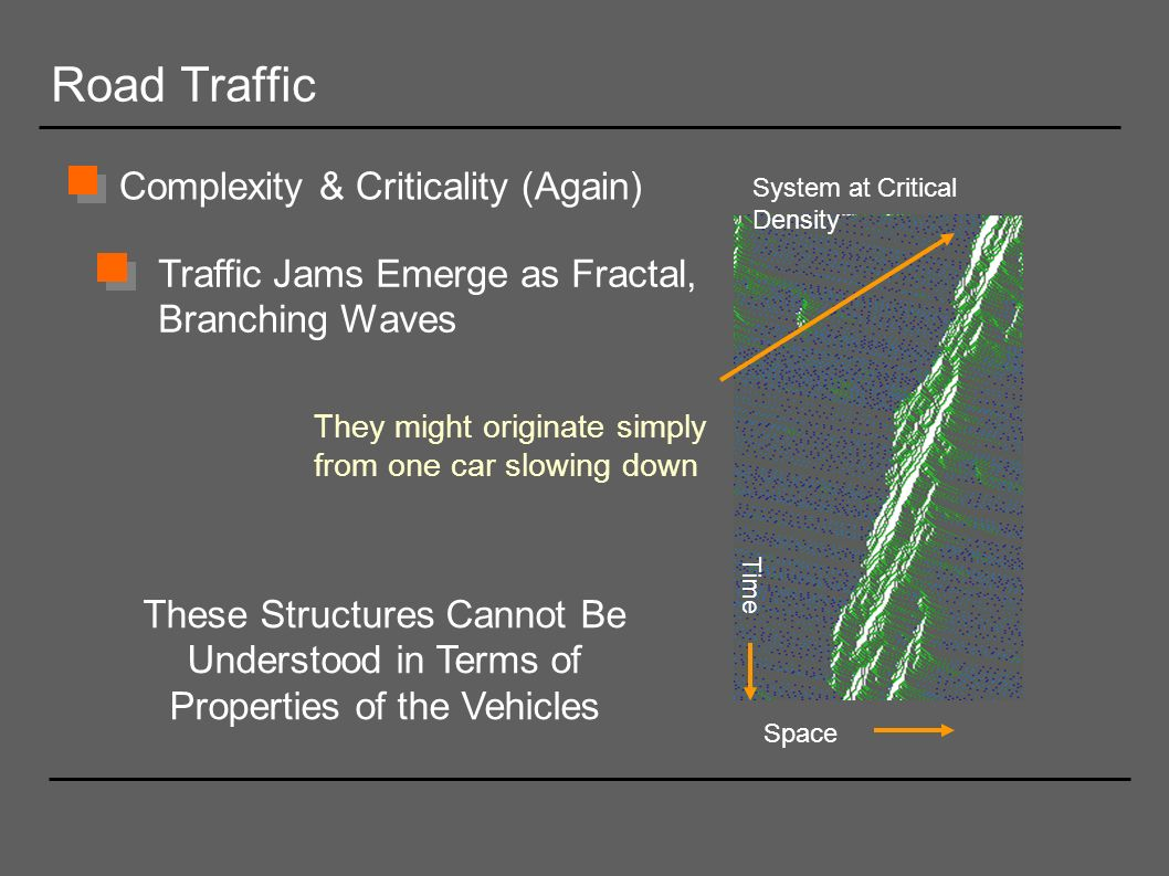 Road Traffic Complexity & Criticality (Again)