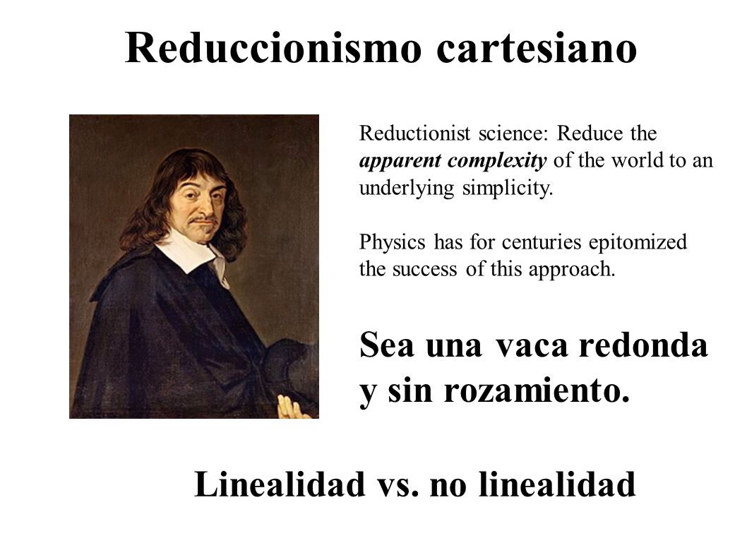 Reduccionismo cartesiano