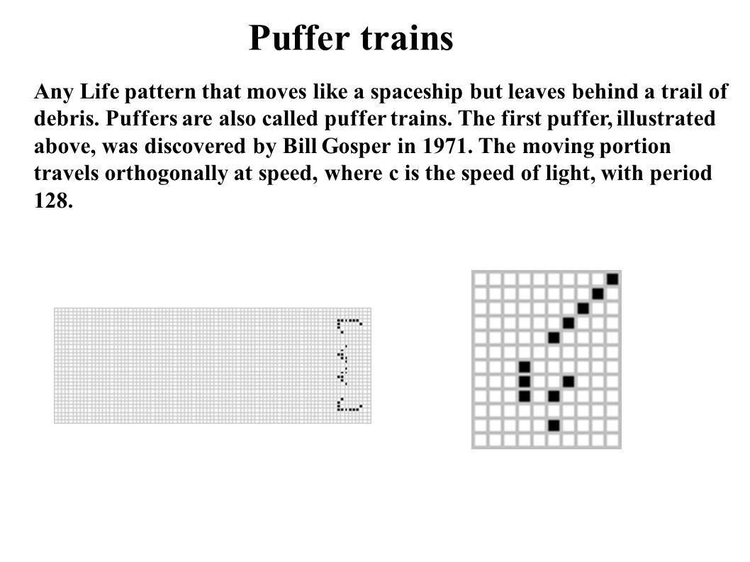 Puffer trains
