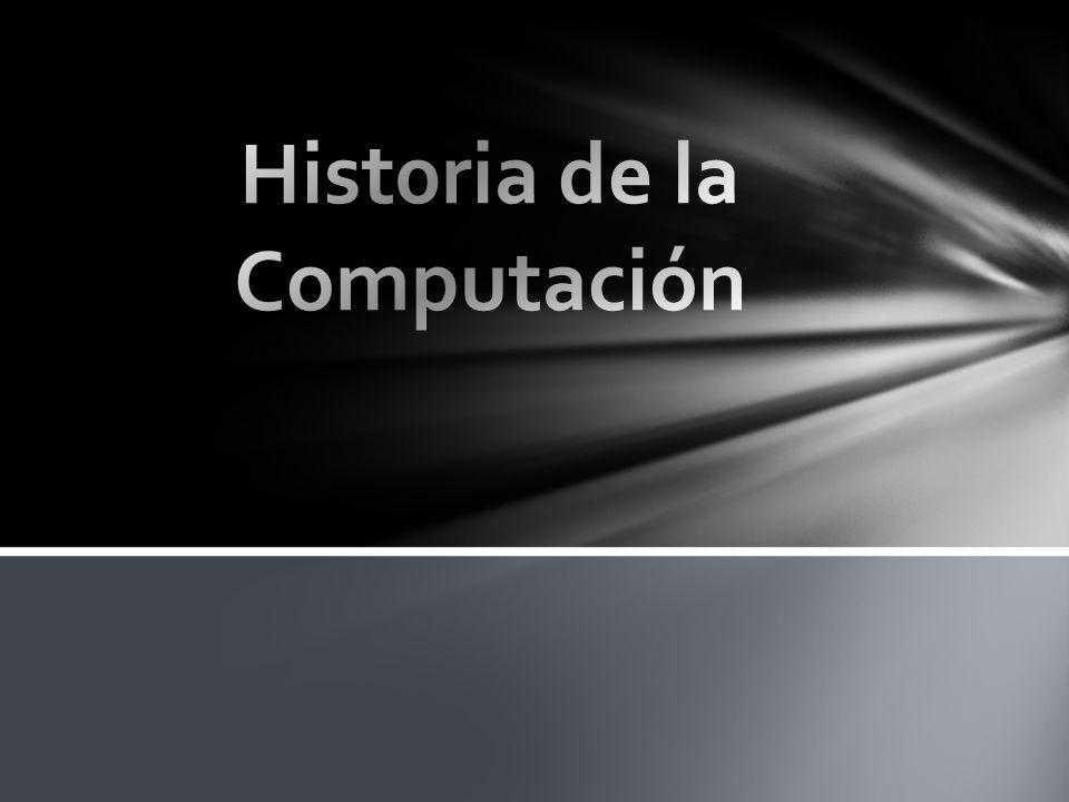 Hist0ria de la Computación