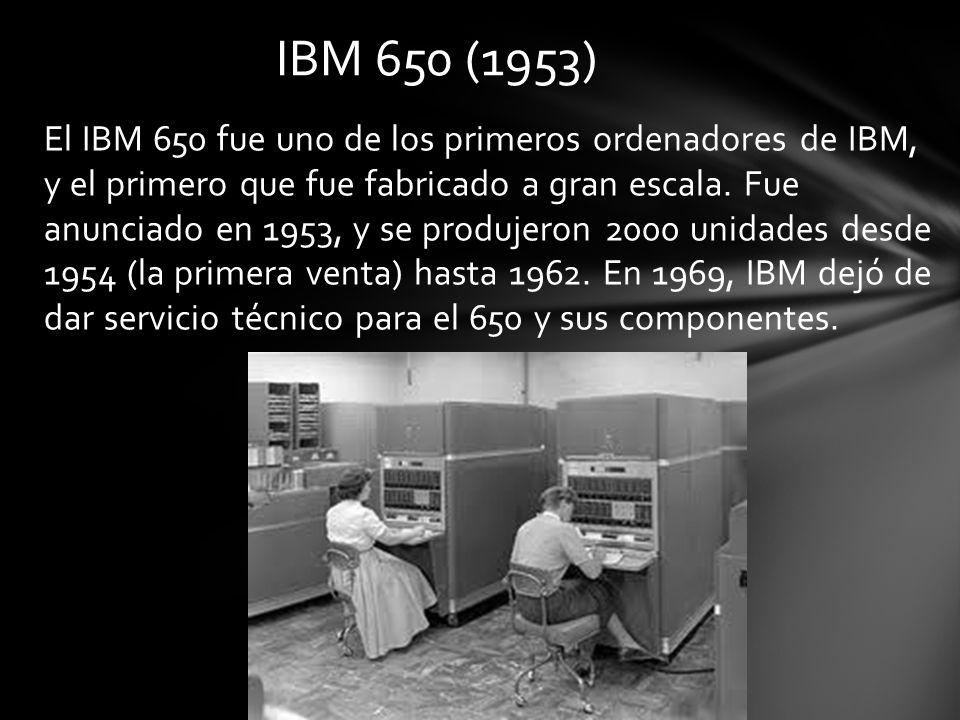 IBM 650 (1953)