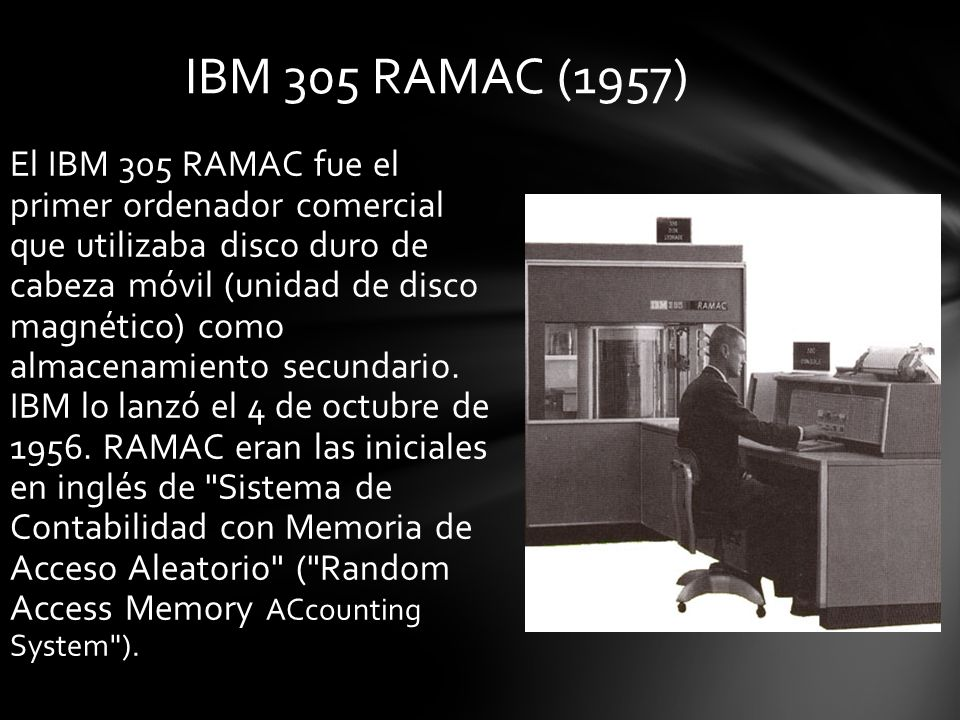 IBM 305 RAMAC (1957)