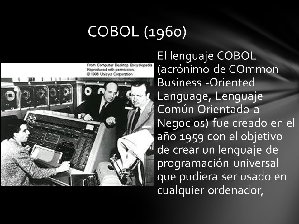 COBOL (1960)