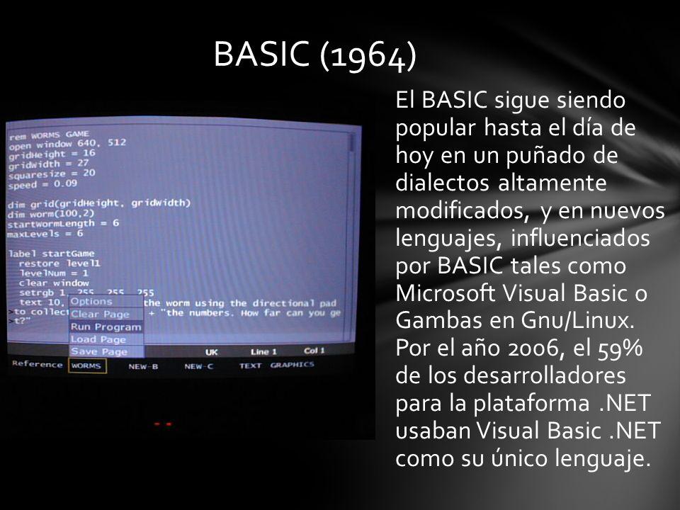 BASIC (1964)