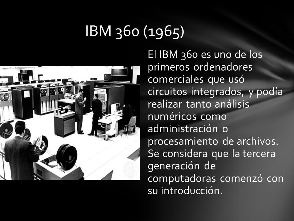 IBM 360 (1965)