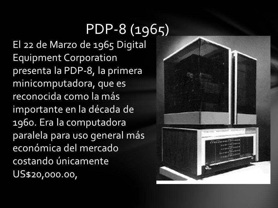 PDP-8 (1965)